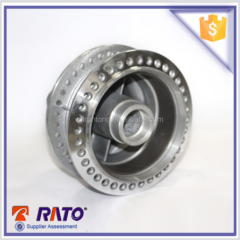 Motorcycle OEM rear steel wheel spocke hub assembly sale