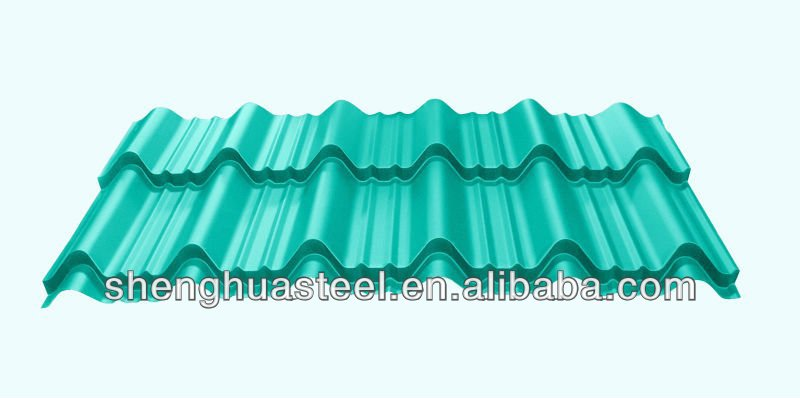 Yiwu Green Color Roof Tiles