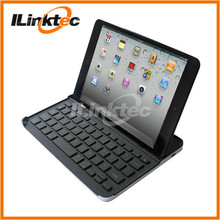 Hot Bracket Bluetooth Keyboard Case for iPad Mini with Magnetic Stripe