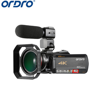 Original Camera 4K video camera with 12X Optical Zoom IPS Touch Screen Wifi 4k Ultra HD Video Camera 4K Professional Camcorder