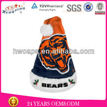 2013 New Design Winter Cap Chicago Bears Forever Collectibles Team Logo Santa Hat Custom Christmas Decoration Supply Hat And Cap
