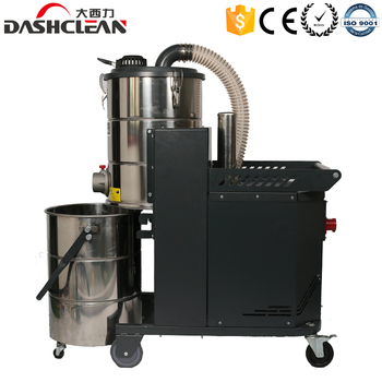 380V industrial vacuum cleaner dust extractor machinery with jet pulse filter cleaning