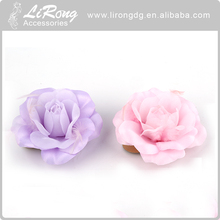 2017 stylish artificial fabric flowers