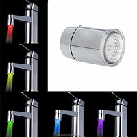 Creative water glow led faucet light 7 colors changing stream water tap