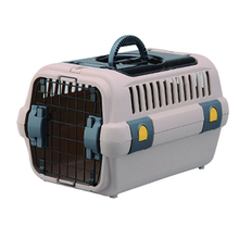 Low MOQ fashion pet air transport box pet carrier portable travel pet house