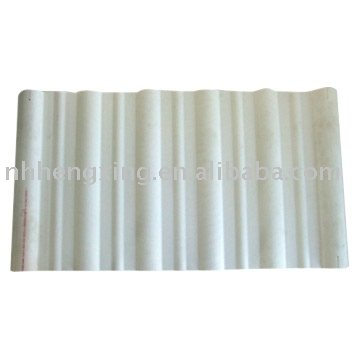 PVC big wave roof tile