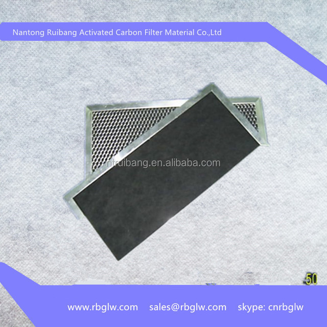 promotion filter aluminum frame active carbon air filters