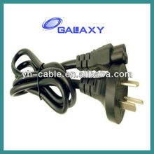 Australia Standard 3 Prong 220v Power Cord Cable For Laptop Adapter