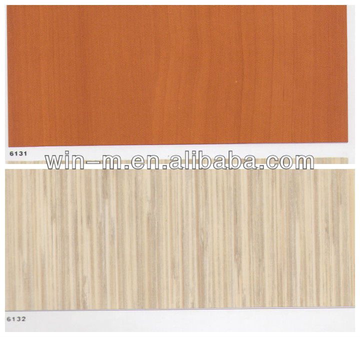 Thick PVC self-adhesive wallpaper film stickers wardrobe doors wood grain paper