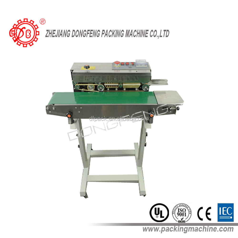 popular hot sale horizontal model console model band sealer DBF-770LD