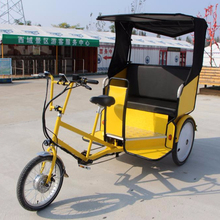 Battery electric cargo use rickshaw for adult