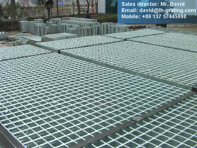 galv iron steel grating, galv grating mesh floor