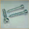 Factory supply high quality din7981 pan head m5 self tapping screw