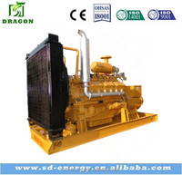 Methane power genset CE approved 100kw biogas power generator with engine parts