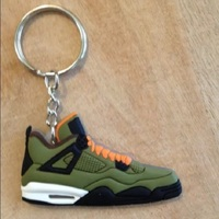 Wholesale promotions custom 3d Mini Nike Air Jordan Shoe Keychain
