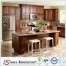 American Standard Flat Pack Solid Wood Modular Kitchen Cabinet Designs