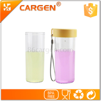 Suitable for child clear plastic creative kids sport water bottle