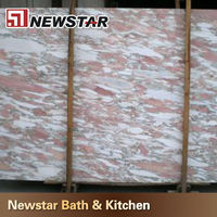 AAA quality hot sales Norwegian rosa pink marble