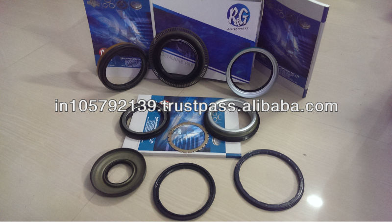 OIL SEALS WHEEL HUB, OIL SEAL ABS RING, OIL SEAL FOR ENGINE - MERCEDES VOLVO SCANIA DAF BPW MERITOR FRUEHAUF SMB TRAILOR YORK