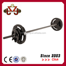 Weight plate,rubber weight plate,High Quality 20kg Body Pump Barbell Set Rubber Coloured Barbell Pump Set