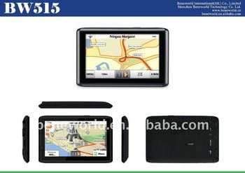 Factory best price 5 inch auto gps navigation