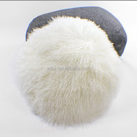 YR910 Factory supply real Mongolian lamb fur cushion cover