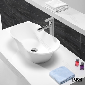artificial solid surface composite stone wash basin