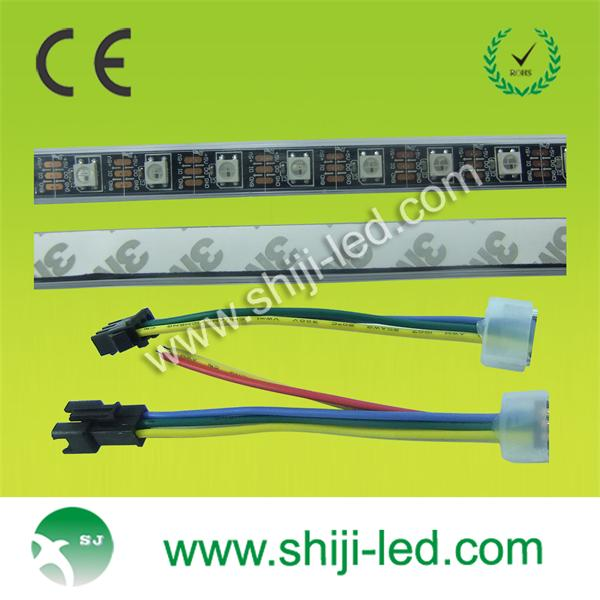 ws2812b full color rgb pixel LED strip lighting smd5050 led chip 5v