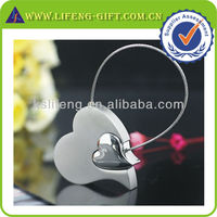 Custom New Year Gift, Quality Heart Keychain