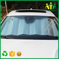 Top Quality PE PVC Aluminum Film Car Front Sun Shield
