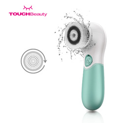 Rechargeable Facial Deep Pore Cleansing Brush Face Wash Cleanser Electric Waterproof Skin Care Cleaning Tool