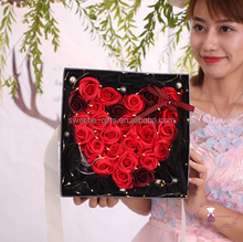 best selling items cheap giveaway gifts soap flowers with box