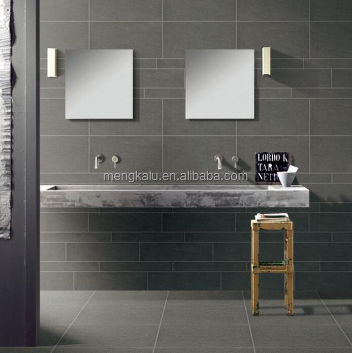 Dark Grey Rustic Floor Tiles Ceramic Wall tiles