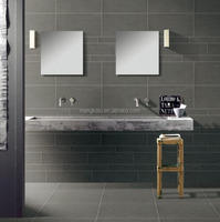 Dark Grey Rustic Floor Tiles Ceramic Wall tile