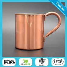 Hot sale & high quality copper plated beer mug
