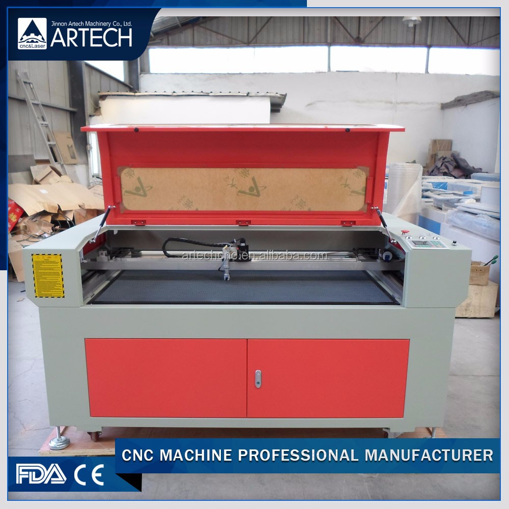 CO2 laser textile fabric engraving cutting machine with CCD camera