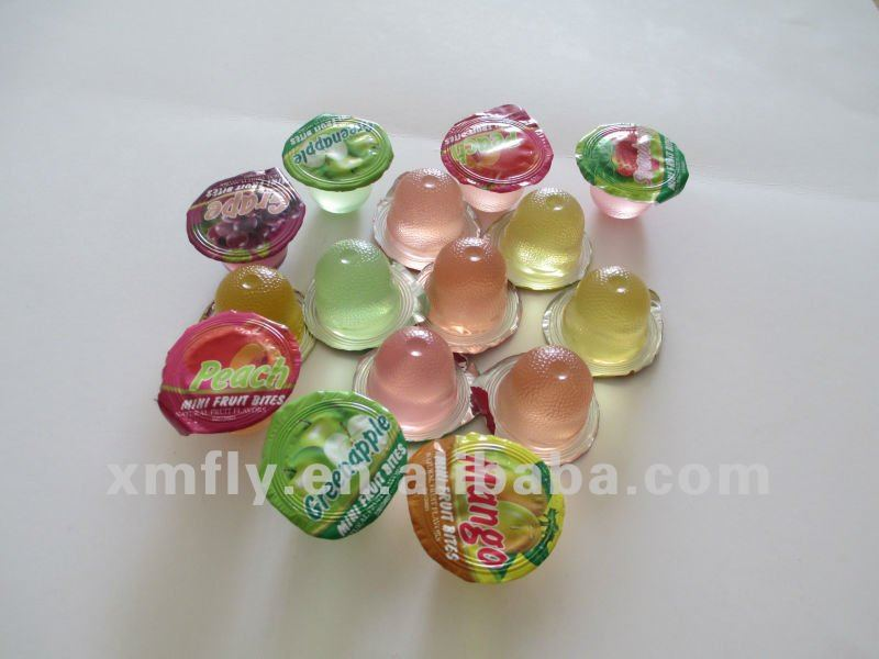 mini Fruit jelly cups