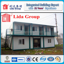 Lida low cost two story container house