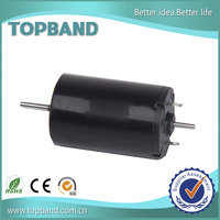 high power 22mm diameter Graphite brush 12v electric motor for medical application