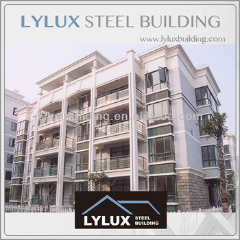 Modern residential building prefab apartment prefabricated apartment