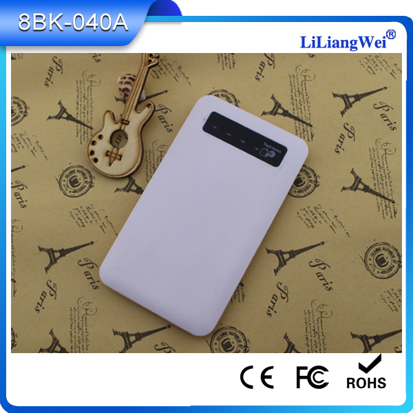 Universal Portable Wholesale Super Slim Alibaba Power Bank 4000mah for around the world
