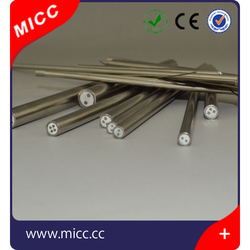 Excellent Oxidation, Carburization and Chlorination Resistance high temperature Mineral Insulated Thermocouple Cable