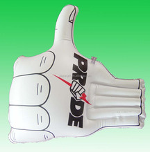 inflatable promotional hand with logo printing