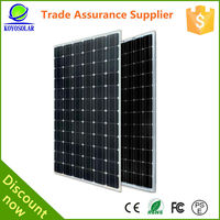 2016 new products Chinese 200 watt solar panel for home