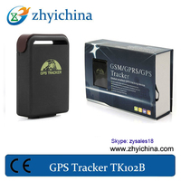 gps gsm personal tracker with get location in real street