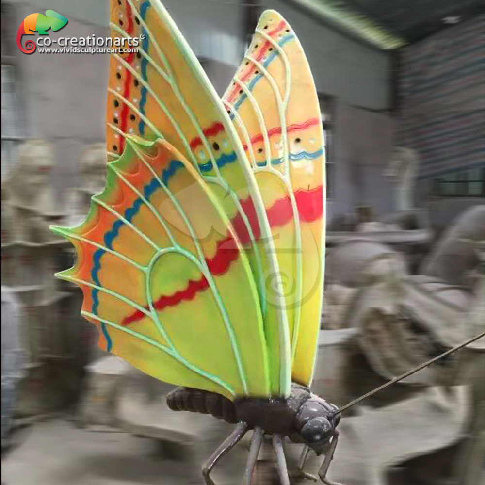 Life Size Simulation Animals Statue/Large insects for Simulation Animal/Animatronic artificial Animal