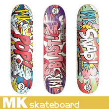 MK 2016 New Design 7 ply canadian maple skateboard complete Professional Leading Manufacturer OEM service