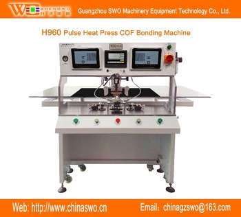 Hoge precisie TAB COF ACF FPC IC bonding machine LCD LED TV panel open mobiele/laptop scherm repareren pulse warmte bonding machine