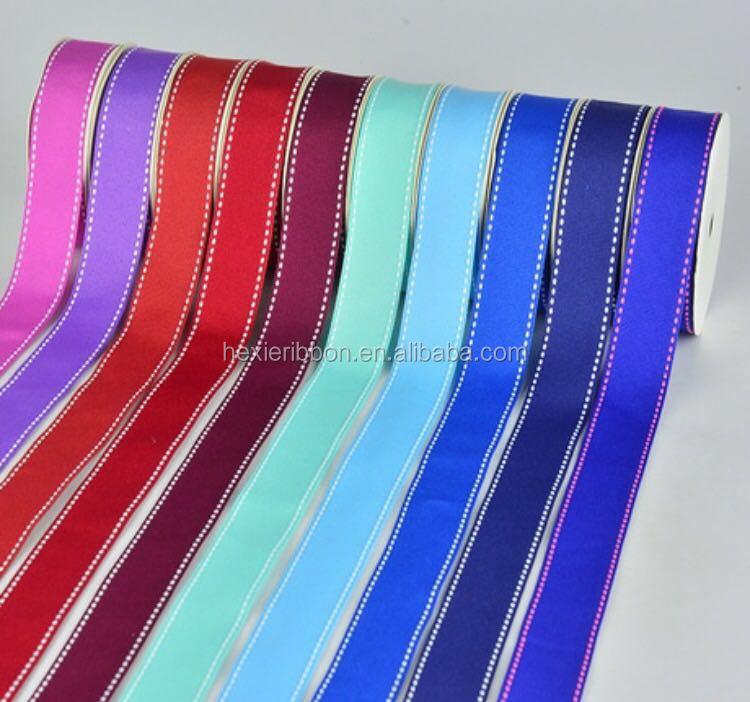 The grosgrain ribbon,gift ribbon ,christmas ribbon