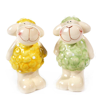 New products decorative ceramic sheep for sale